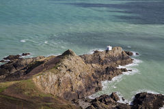 Jerbourg Point on Guernsey Royalty Free Stock Images