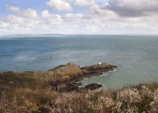Jerbourg Point on Guernsey Royalty Free Stock Photography
