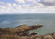 Jerbourg Point on Guernsey Stock Photo
