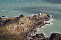 Jerbourg Point on Guernsey Royalty Free Stock Photo