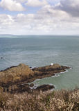 Jerbourg Point on Guernsey Royalty Free Stock Photos