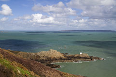 Jerbourg Point on Guernsey Stock Photography