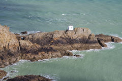 Jerbourg Point on Guernsey Stock Image