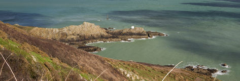 Jerbourg Point on Guernsey Stock Photos