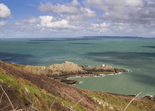 Jerbourg Point on Guernsey Royalty Free Stock Image