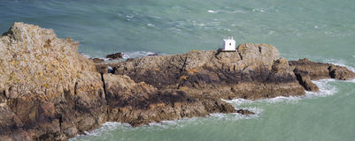 Jerbourg Point on Guernsey Stock Images