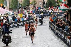 Jerdonek, Sweetland, Groff - biegający Zdjęcia Royalty Free