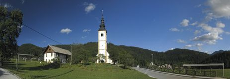 Jereka nelle alpi di Julian in Slovenia Fotografia Stock Libera da Diritti