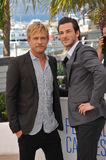 Jeremie Renier & Gaspard Ulliel Royalty Free Stock Images
