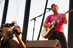 Jeremy Camp Performs at Creation NW 2006 Stock Photos
