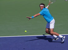 Jeremy CHARDY at the 2009 BNP Paribas Open Stock Photo