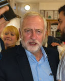 Jeremy Corbyn visiting Mosque Royalty Free Stock Image