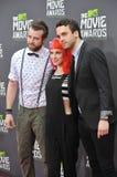 Jeremy Davis & Hayley Williams & Taylor York Royalty Free Stock Image