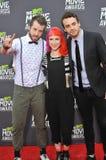Jeremy Davis & Hayley Williams & Taylor York Royalty Free Stock Images