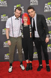 Jeremy Davis & Hayley Williams & Taylor York Stock Image
