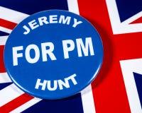 Jeremy Hunt para el primer ministro fotografía de archivo