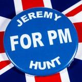 Jeremy Hunt para el primer ministro fotos de archivo libres de regalías