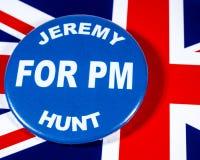 Jeremy Hunt para el primer ministro foto de archivo