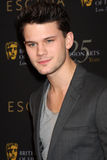 Jeremy Irvine. LOS ANGELES - JAN 14:  Jeremy Irvine arrives at  the BAFTA Award Season Tea Party 2012 at Four Seaons Hotel on January 14, 2012 in Beverly Hills Royalty Free Stock Photo