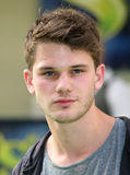 Jeremy Irvine. Attending the Shrek The Musical Press Night, at the The Theatre Royal, London. 14/06/2011  Picture by: Alexandra Glen / Featureflash Stock Image