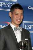 Jeremy Lin. LOS ANGELES - JUL 11: Jeremy Lin in the Press Room of the 2012 ESPY Awards at Nokia Theater at LA Live on July 11, 2012 in Los Angeles, CA stock photography