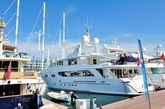 Jeremy luxury yacht from Northrop Johnson Royalty Free Stock Photos