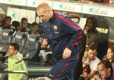 JEREMY MATHIEU FC BARCELONE Obraz Royalty Free