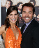Jeremy Pivens,Perrey Reeves Stock Images