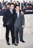 Jeremy Piven Lee i Rex Zdjęcie Stock