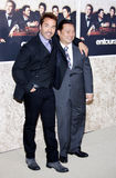 Jeremy Piven and Rex Lee Stock Images