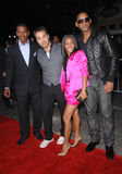 Jeremy Pivens,Jada Pinkett-Smith,Jamie Foxx,Will Smith Stock Photography