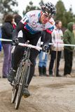 Jeremy Powers - Pro Cyclocross Racer Stock Photography