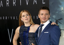 Jeremy Renner and Amy Adams Royalty Free Stock Image