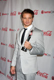 Jeremy Renner arrives at the CinemaCon 2012 Talent Awards Stock Photos