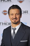 Jeremy Renner. LOS ANGELES, CA - NOVEMBER 4, 2013: Jeremy Renner at the US premiere of Thor: The Dark World at the El Capitan Theatre, Hollywood Royalty Free Stock Photography