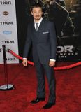 Jeremy Renner. LOS ANGELES, CA - NOVEMBER 4, 2013: Jeremy Renner at the US premiere of Thor: The Dark World at the El Capitan Theatre, Hollywood Stock Images