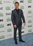 Jeremy Renner. SANTA MONICA, CA - MARCH 1, 2014: Jeremy Renner at the 2014 Film Independent Spirit Awards on the beach in Santa Monica, CA Royalty Free Stock Image