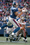 Jeremy Shockey, New York Giants. New York Giants tight end Jeremy Shockey #80 (Image taken from color slide Stock Images