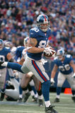 Jeremy Shockey, New York Giants. New York Giants tight end Jeremy Shockey #80 (Image taken from color slide Royalty Free Stock Photography