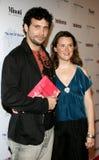 Jeremy Sisto und Jennifer Howell lizenzfreie stockbilder