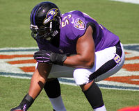 Jeremy Zuttah. Baltimore Ravens Center Jeremy Zuttah Stock Images