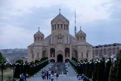 Jerevan, Αρμενία, στις 16 Σεπτεμβρίου 2017: Ο Άγιος Gregory ο άρρωστος Στοκ Εικόνα