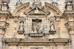 Jerez cathedral Stock Photography