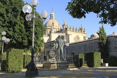 Jerez de la Frontera Cathedral, Spain Royalty Free Stock Photo