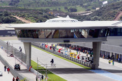 Jerez de la Frontera circuit Royalty Free Stock Photography