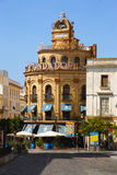 Jerez de la Frontera, Edificio Gallo Azul Imágenes de archivo libres de regalías