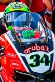 Davide Giugliano pilot of Superbikes SBK stock images