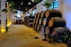 Jerez de la Frontera, Spanje Tio Pepe stock foto's