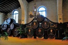 Jerez de la Frontera, Spanje Tio Pepe Royalty-vrije Stock Foto's