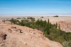 Jerez oasis, Toconao (Chile) Royalty Free Stock Image